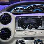 Toyota Etios centre console at the 2014 Nepal Auto Show