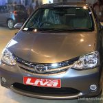 Toyota Etios Liva front at the 2014 Nepal Auto Show