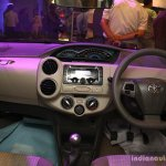 Toyota Etios Liva interior at the 2014 Nepal Auto Show