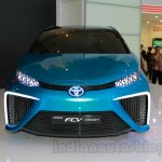 Toyota FCV Concept front at the 2014 Indonesia International Motor Show