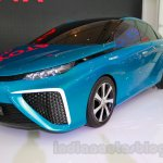 Toyota FCV Concept front three quarters at the 2014 Indonesia International Motor Show