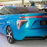 Toyota FCV Concept rear three quarters left at the 2014 Indonesia International Motor Show