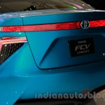 Toyota FCV Concept taillamp at the 2014 Indonesia International Motor Show