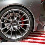 Toyota FT-1 concept rear wheel at the 2014 Indonesia International Motor Show
