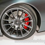 Toyota FT-1 concept wheel at the 2014 Indonesia International Motor Show
