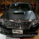 Toyota Fortuner 4X4 special Edition front at the Indonesian International Motor Show 2014