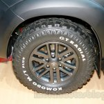Toyota Fortuner 4X4 special Edition wheel at the Indonesian Internatonal Motor Show 2014