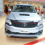 Toyota Fortuner TRD Edition front at the Indonesian International Motor Show 2014