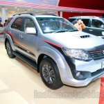 Toyota Fortuner TRD Edition front three quarters left at the Indonesian International Motor Show 2014