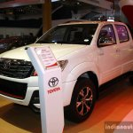 Toyota Hilux TRD Sportivo front three quarter at the 2014 Philippines International Motor Show