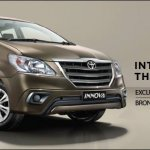 Toyota Innova Limited Edition press shot