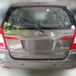Toyota Innova Limited Edition rear