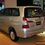 Toyota Innova rear there quarter at the 2014 Philippines International Motor Show