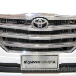 Toyota Innova special edition grille at the 2014 Indonesia International Motor Show