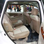 Toyota Innova special edition rear seat at the 2014 Indonesia International Motor Show
