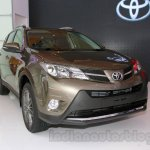 Toyota RAV4 front three quarters at the 2014 Indonesia International Motor Show