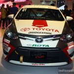 Toyota Vios Cup front at the 2014 Philippines International Motor Show