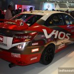 Toyota Vios Cup rear right three quarter at the 2014 Philippines International Motor Show