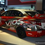 Toyota Vios Cup rear three quarter at the 2014 Philippines International Motor Show