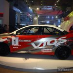 Toyota Vios Cup side at the 2014 Philippines International Motor Show