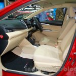 Toyota Vios TRD Sportivo at the 2014 Indonesia International Motor Show front seat