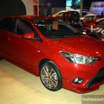 Toyota Vios TRD Sportivo at the 2014 Philippines International Motor Show front right three quarter