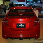 Toyota Vios TRD Sportivo rear at the 2014 Philippines International Motor Show
