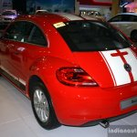VW Beetle rear left three quarter at the 2014 Philippines International Motor Show