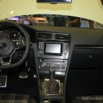 VW Golf GTI interior at the 2014 Philippines International Motor Show