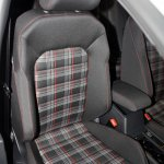 VW Golf GTI seat at the 2014 Philippines International Motor Show