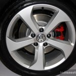 VW Golf GTI wheel at the 2014 Philippines International Motor Show