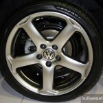 VW Jetta Sport Edition alloy wheel at the 2014 Philippines International Motor Show