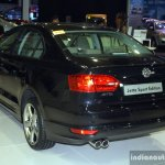 VW Jetta Sport Edition rear three quarter at the 2014 Philippines International Motor Show