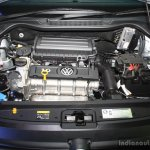 VW Polo 1.6L facelift engine bay at the 2014 Nepal Auto Show