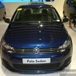 VW Polo Sedan front at the Philippines Motor Show 2014
