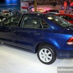 VW Polo Sedan side at the Philippines Motor Show 2014