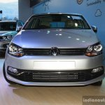 VW Polo facelift engine badge at the NADA Auto Show Nepal