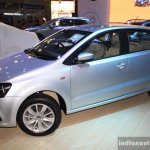 VW Polo facelift front left three quarter at the NADA Auto Show Nepal