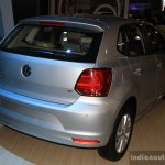 VW Polo facelift rear three quarter at the 2014 NADA Auto Show Nepal