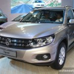 VW Tiguan at the 2014 Nepal Auto Show