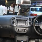 VW Tiguan interior at the 2014 Nepal Auto Show