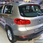 VW Tiguan rear right three quarter at the 2014 Nepal Auto Show