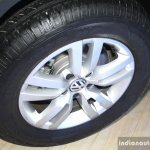 VW Tiguan wheel at the 2014 Nepal Auto Show