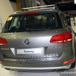 VW Touareg rear at the Philippines Motor Show 2014