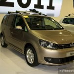 VW Touran front three quarter at the Philippines Motor Show 2014