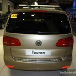 VW Touran rear at the Philippines Motor Show 2014