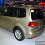 VW Touran rear three quarter at the Philippines Motor Show 2014
