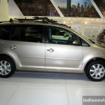 VW Touran side at the Philippines Motor Show 2014