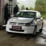 VW Vento facelift spied India