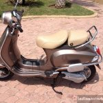 Vespa Elegante brown side
